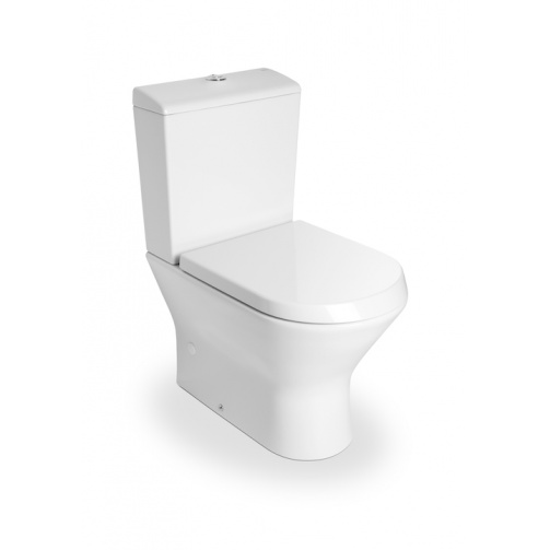 ROCA NEXO COMPACT CLOSE COUPLED TOILET WITH SOFT CLOSE SEAT