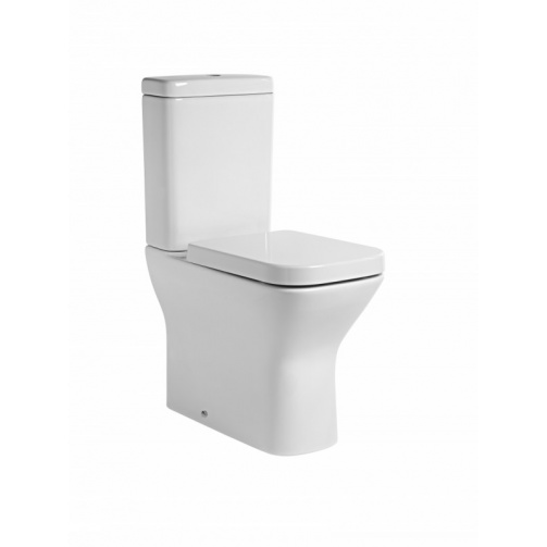 TAVISTOCK STRUCTURE COMFORT HEIGHT CLOSED BACK CLOSE COUPLED TOILET COMPLETE WITH SOFT CLOSE SEAT