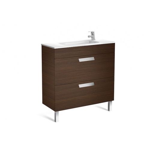 Roca Debba compact 800mm 2 draw Vanity Unit 1th