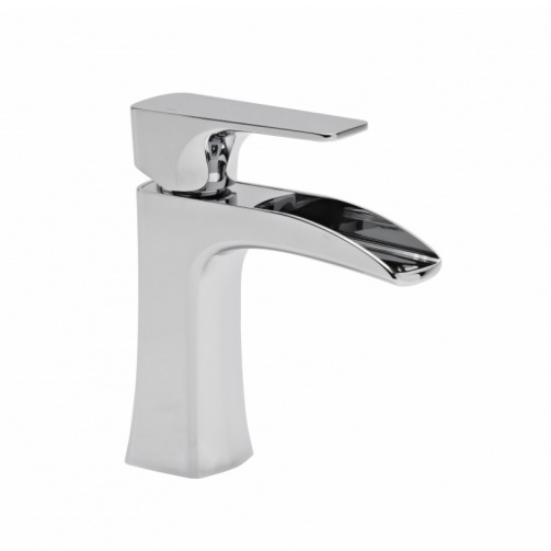Roper rhodes Sign Open Spout Mini Basin Mixer With Click Waste