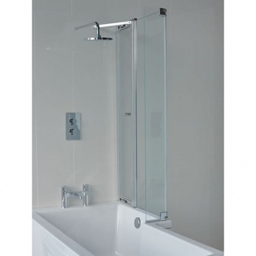 Cleargreen Ecosquare 1700x700mm Shower Bath Inc Panel & Screen