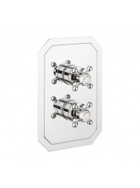 CROSSWATER BELGRAVIA 1500 RECESSED THERMOSTATIC SHOWER VALVE WITH TWO WAY DIVERTER CHROME