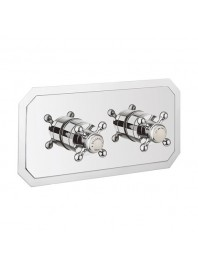 CROSSWATER BELGRAVIA 1501 RECESSED THERMOSTATIC SHOWER VALVE WITH TWO WAY DIVERTER CHROME