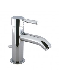 CROSSWATER DESIGN BASIN MONOBLOC WITH POP UP WASTE CHROME