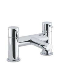 CROSSWATER KAI LEVER BATH FILLER CHROME