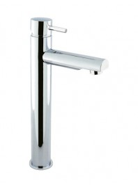 CROSSWATER KAI LEVER TALL BASIN MIXER FIXED SPOUT CHROME