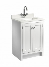 ROPER RHODES HAMPTON 600 UNDERSLUNG BASIN UNIT CHALK WHITE