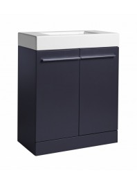 TAVISTOCK KOBE 700MM FREESTANDING UNIT COMPLETE WITH CERAMIC BASIN STORM GREY