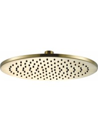 Just taps vos round shower head brushed brass