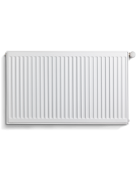 Standard double radiator white 400mm high type 22