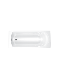 Carron arc carronite single ended bath white