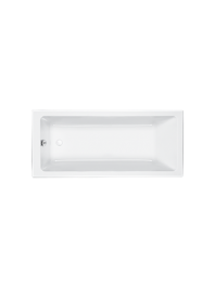 Carron quantum carronite single ended bath white