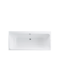 Carron profile duo carronite double ended bath white