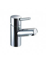 Niagra basin mixer chrome with click waste