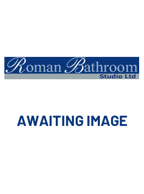 SIMPSON DESIGN 8 INLINE PIVOT DOOR WITH SIDE PANEL INC TRAY MATT BLACK