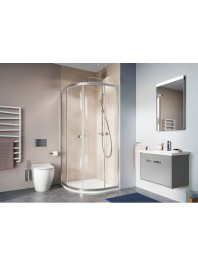 SIMPSON CLEAR 6 QUADRANT DOUBLE DOOR