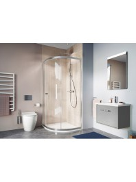SIMPSON CLEAR 6 QUADRANT SINGLE DOOR